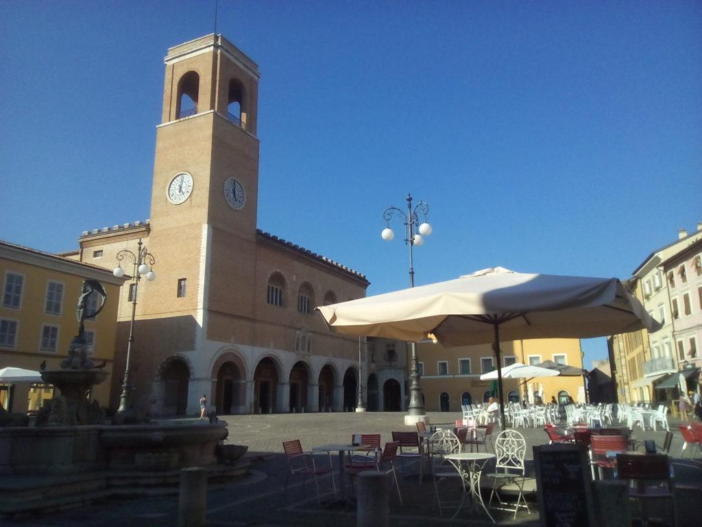La piazza XX Settembre